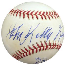 "Buddy Lewis Autographed Official NL Baseball Washington Senators ""Full Name 1935-49 297 BT"" Beckett BAS #S78628"