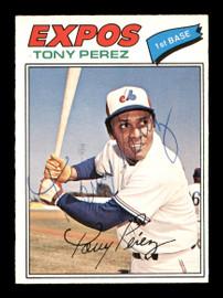Tony Perez Autographed 1977 O-Pee-Chee Card #135 Montreal Expos SKU #169076