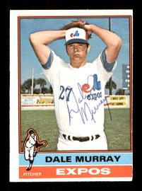 Dale Murray Autographed 1976 O-Pee-Chee Card #18 Montreal Expos SKU #169432