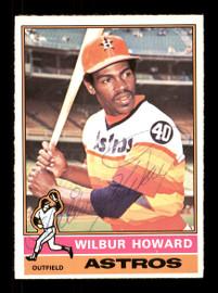Wilbur Howard Autographed 1976 O-Pee-Chee Card #97 Houston Astros SKU #169438