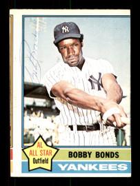 Bobby Bonds Autographed 1976 O-Pee-Chee Card #380 New York Yankees SKU #169454