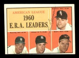 Frank Baumann Autographed 1961 Topps Card #46 Chicago White Sox SKU #169738