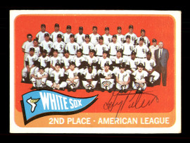 Gary Peters Autographed 1965 Topps Team Card #234 Chicago White Sox SKU #170447