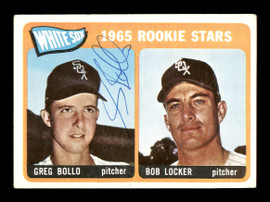 Greg Bollo Autographed 1965 Topps Rookie Card #541 Chicago White Sox SKU #170562