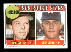 Tom Griffin Autographed 1969 Topps Rookie Card #614 Houston Astros SKU #171136