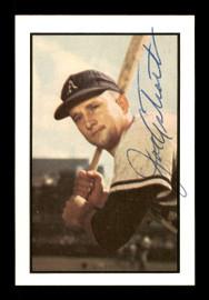 Joe Astroth Autographed 1983 Bowman 1953 Bowman Reprint Card #82 Philadelphia A's SKU #171297