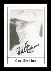 Carl Erskine Autographed 1978 Grand Slam Card #109 Brooklyn Dodgers SKU #171650
