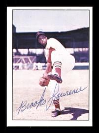 Brooks Lawrence Autographed 1979 TCMA Card #217 St. Louis Cardinals SKU #171705
