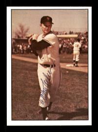 Whitey Lockman Autographed 1979 TCMA Card #26 New York Giants SKU #171722