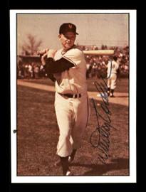 Whitey Lockman Autographed 1979 TCMA Card #26 New York Giants SKU #171723