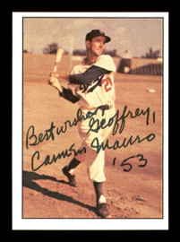 "Carmen Mauro Autographed 1979 TCMA Card #109 Brooklyn Dodgers ""To Geoffrey Best Wishes"" SKU #171768"