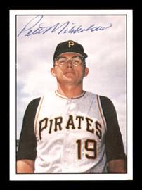 Pete Mikkelsen Autographed 1981 TCMA Card #431 Pittsburgh Pirates SKU #171808