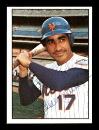 Felix Millan Autographed 1975 SSPC Card #16 New York Mets Regional Issue SKU #171810