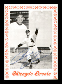 Billy Pierce Autographed 1976 Chicago's Greats Card Chicago White Sox SKU #171922