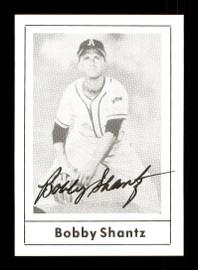 Bobby Shantz Autographed 1978 Grand Slam Card #137 Philadelphia A's SKU #171992