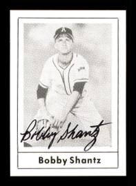 Bobby Shantz Autographed 1978 Grand Slam Card #137 Philadelphia A's SKU #171993