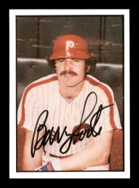 Barry Foote Autographed 1978 SSPC Card #40 Philadelphia Phillies SKU #172260