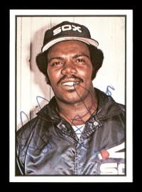 Lamar Johnson Autographed 1978 SSPC Card #137 Chicago White Sox SKU #172312