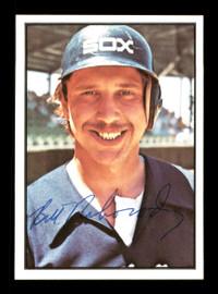Bill Nahorodny Autographed 1978 SSPC Card #156 Chicago White Sox SKU #172323