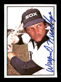 Wayne Nordhagen Autographed 1978 SSPC Card #162 Chicago White Sox SKU #172327