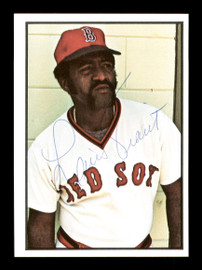 Luis Tiant Autographed 1978 SSPC Card #176 Boston Red Sox SKU #172336