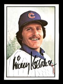 Mick Kelleher Autographed 1978 SSPC Card #269 Chicago Cubs SKU #172393