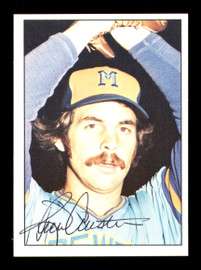 Rick Austin Autographed 1975 SSPC Card #249 Milwaukee Brewers On Larry Anderson Card SKU #172474