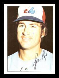 Jim Cox Autographed 1975 SSPC Card #325 Montreal Expos SKU #172495