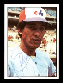 Pepe Frias Autographed 1975 SSPC Rookie Card #331 Montreal Expos SKU #172498