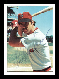 Rick Burleson Autographed 1975 SSPC Rookie Card #410 Boston Red Sox SKU #172513