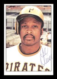 Al Oliver Autographed 1975 SSPC Card #576 Pittsburgh Pirates SKU #172571
