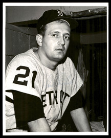 Paul Foytack Autographed 8x10 Photo Detroit Tigers SKU #175813