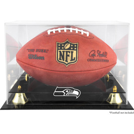Seattle Seahawks Golden Classics Football Display Case Stock #176030