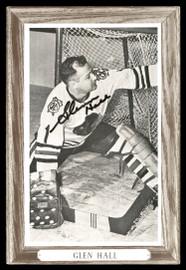 Glenn Hall Autographed 1964-67 Beehive Group 3 4.5x6.5 Photo Chicago Blackhawks SKU #176455