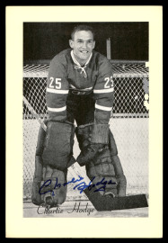 Charlie Hodge Autographed 1944-63 Beehive Group 2 4.5x6.5 Photo Montreal Canadiens SKU #176529