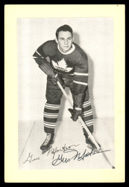 Gus Mortson Autographed 1944-63 Beehive Group 2 4.5x6.5 Photo Toronto Maple Leafs SKU #176685