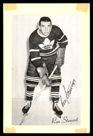 Ron Stewart Autographed 1944-63 Beehive Group 2 4.5x6.5 Photo Toronto Maple Leafs SKU #176692