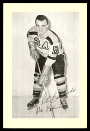 Pete Babando Autographed 1944-63 Beehive Group 2 4.5x6.5 Photo Boston Bruins SKU #176774