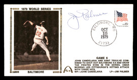 Jim Palmer Autographed First Day Cover Baltimore Orioles 1979 World Series JSA SOA SKU #177072