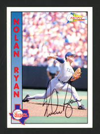 Nolan Ryan Autographed 1992 Pacific Card #1 Texas Rangers Stock #177115