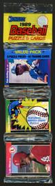 Ken Griffey Jr. Autographed 1989 Donruss Baseball Sealed Rack Pack Rookie Card #33 Seattle Mariners Vintage Beckett BAS #A31381
