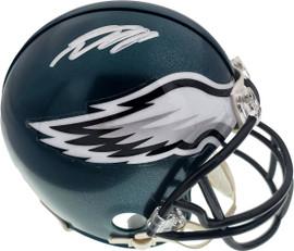 Desean Jackson Autographed Philadelphia Eagles Mini Helmet JSA Stock #177437