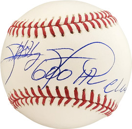 "Sammy Sosa Autographed Official MLB Baseball Chicago Cubs ""600 HR Club"" Beckett BAS Stock #177589"