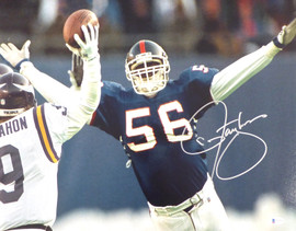 Lawrence Taylor Autographed 16x20 Photo New York Giants Beckett BAS Stock #177682