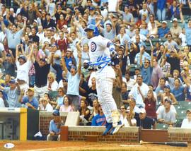 Sammy Sosa Autographed 16x20 Photo Chicago Cubs Beckett BAS Stock #177694
