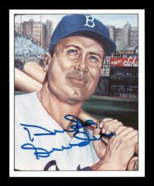 Duke Snider Autographed 1986 TCMA Card #49 Brooklyn Dodgers SKU #178146