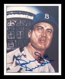Duke Snider Autographed 1986 TCMA Card #50 Brooklyn Dodgers SKU #178147