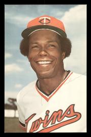 Rod Carew Autographed 1978 3.5x5.5 Postcard Minnesota Twins SKU #178175