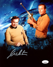 William Shatner Autographed 8x10 Photo Star Trek JSA Stock #178299