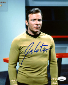 William Shatner Autographed 8x10 Photo Star Trek JSA Stock #178304
